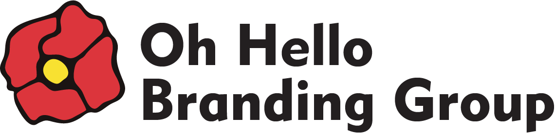Oh, Hello Branding Group Logo